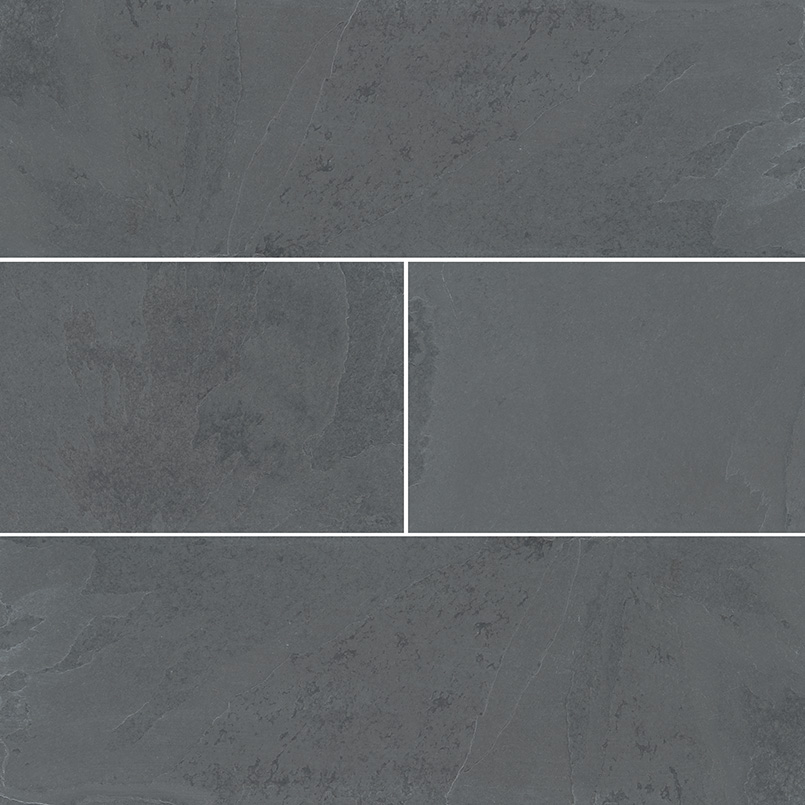montauk black subway tile 4x12 slate backsplash