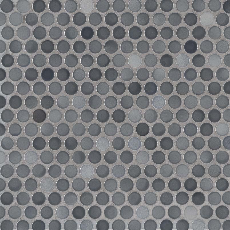 penny round grigio mix backsplash tile wall tile penny rounds