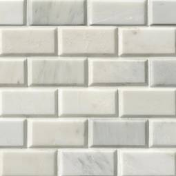 beveled subway tile kitchen island light fixture collection natural stone ceramic glass greecian white 2x4