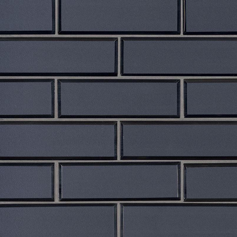 vague blue subway tile glass mosaics subway tile collection