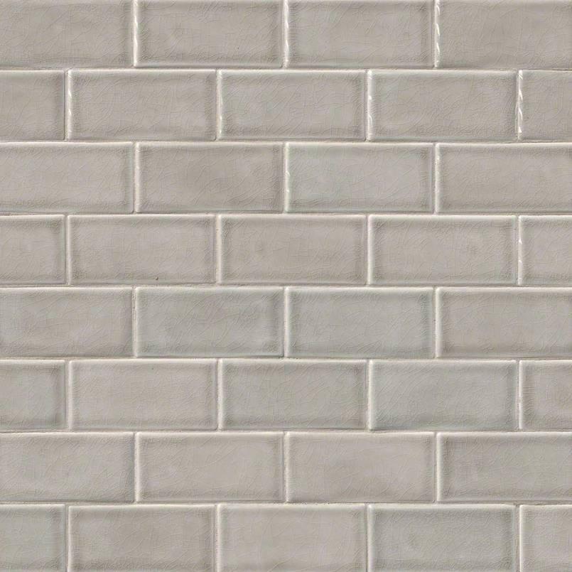 Dove Gray Subway Tile 3x6  Subway Tile Collection