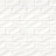 Whisper White Subway Tile 3x6   White Tile   Backsplash Tile