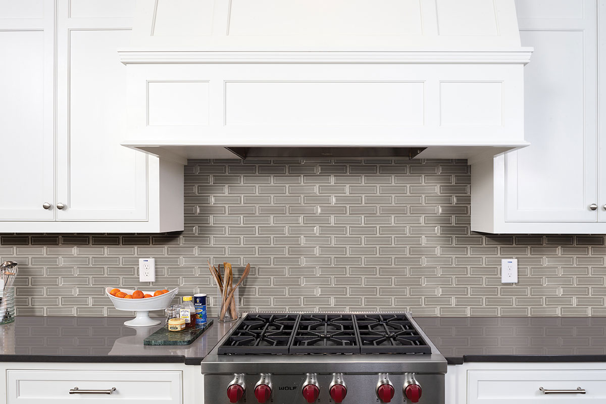 dove gray beveled subway tile ceramic tile subway tile