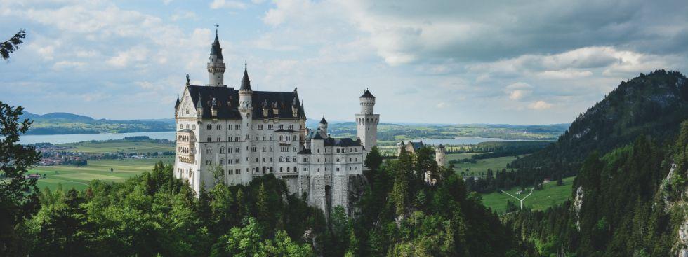 palace neuschwanstein near munich