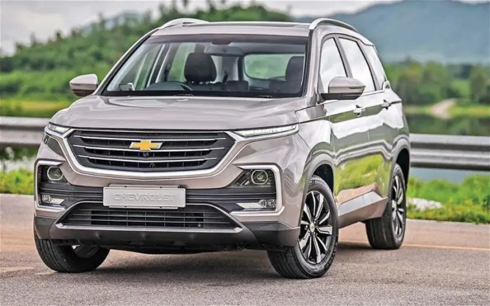 The price went up to 5000 pounds ... Check out the new prices of the Chevrolet Captiva