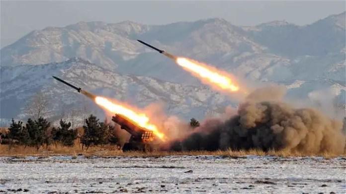 Katyusha rockets