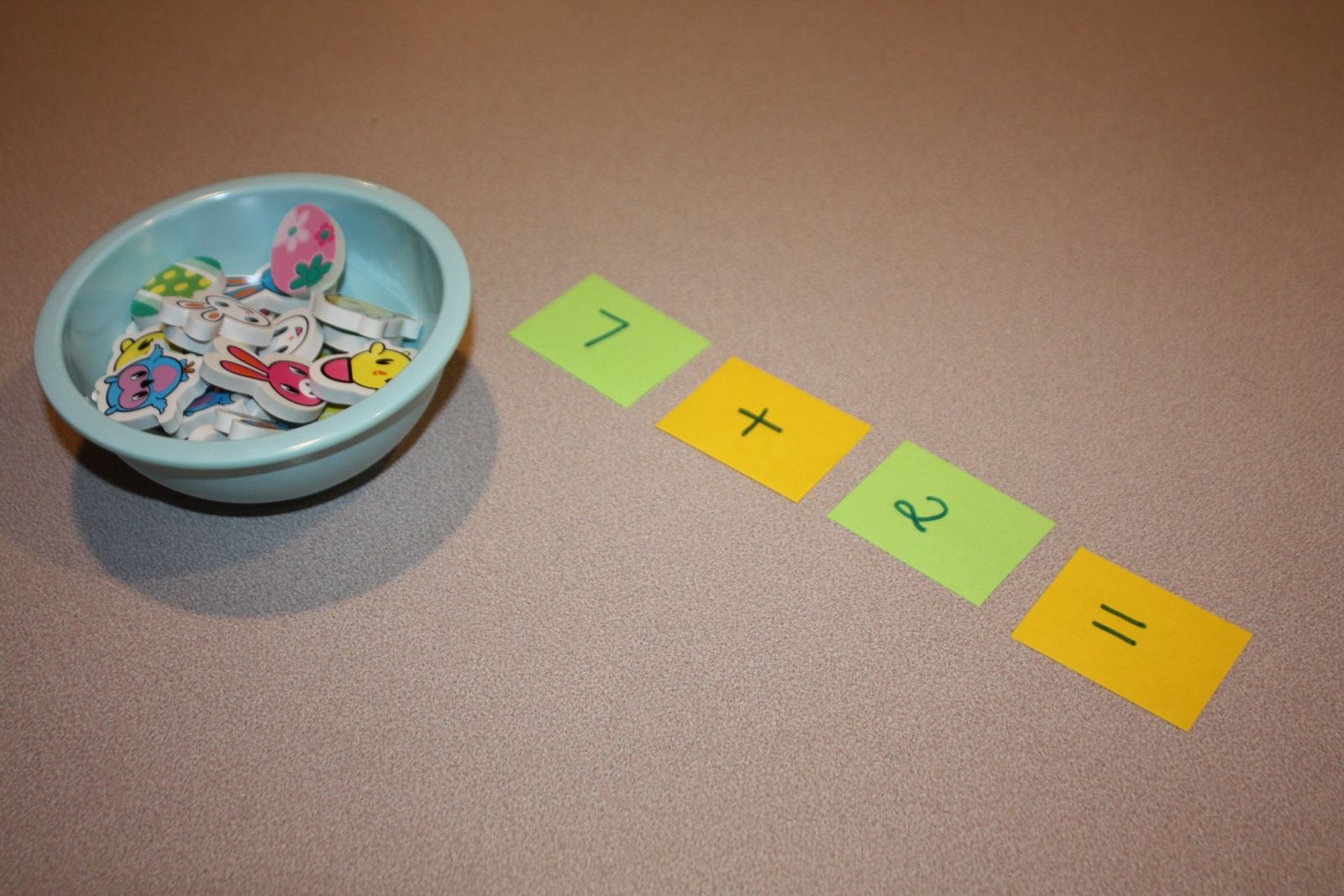Easter Manipulatives Math