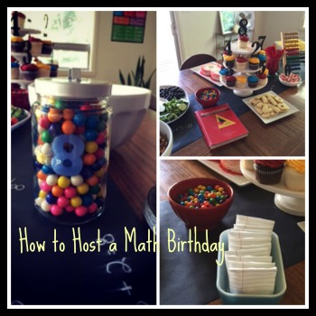 How To Host A Math Birthday Party