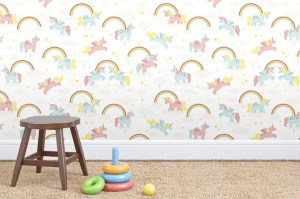 unicorn rainbow wallpapers modern unicorns walls cricket jimmy rooms rainbows designer leslie utterly joins perth delightful forces michelle based mumsgrapevine