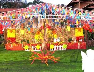 Decoração Festa Junina Na Escola 1
