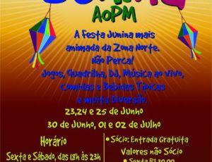 Festa Junina Aopm 2017 Programação SP