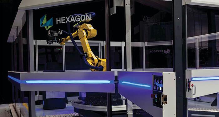 solucion completa de medición 3D fexagon 360º Cell, hexagon MI, medición , talleres, departamento de calidad, inspección en línea, fabricación