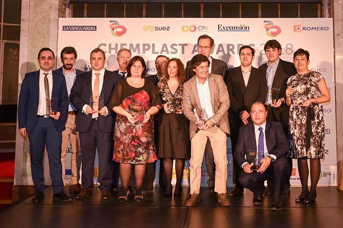 chemplast expo, ganadores premios chemplast 2018, chemplast awards 2018, innovación, repsol, cepsa, centro español de plásticos, 3d industria, innovación, plásticos, química