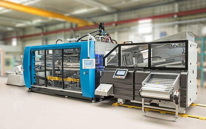 Kiefel KTR 5.1 Speed, máquina de termoconformado, formado, film kiefel, producción de tarrinas, vasos, copas, tapas, plástico, transformación de plásticos, packaging