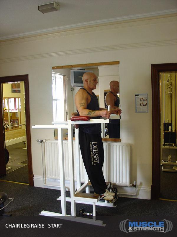 Chair Leg Raise Video Exercise Guide  Tips