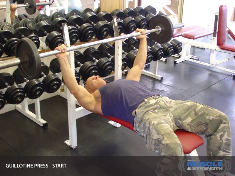 Guillotine Press Video Exercise Guide Amp Tips