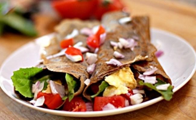 Easy Gluten Free Buckwheat Protein Crepes Recipe