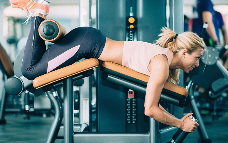 Leg Curl Video Exercise Guide  Tips