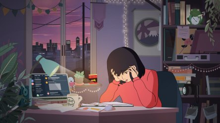 Why Study Girl Anime Star of an Infinitely Looping Video Went Missing This Week Muse by Clio