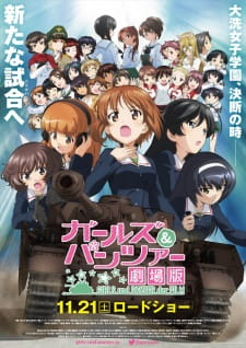 Girls & Panzer Movie Subtitle Indonesia