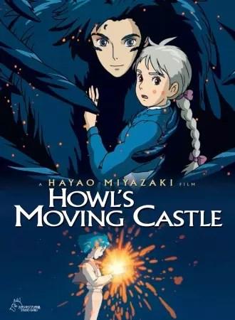 Anime Romance Rating Tinggi Howl's Moving Castle