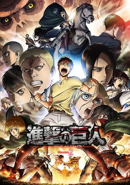 Shingeki no Kyojin Season 2 (Episode 01 – 12) Subtitle Indonesia