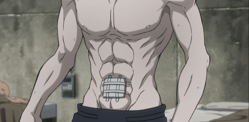 """Is a bit like saying, """"i don't like magazines."""" Top 20 Hot Anime Abs I M Too Sexy For My Shirt Myanimelist Net"""