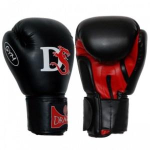 Boxing gloves DRAGON Gym black 200900