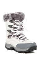St. Moritz Lite 200 I Faux Fur Trim Boot - WHITE-GREY