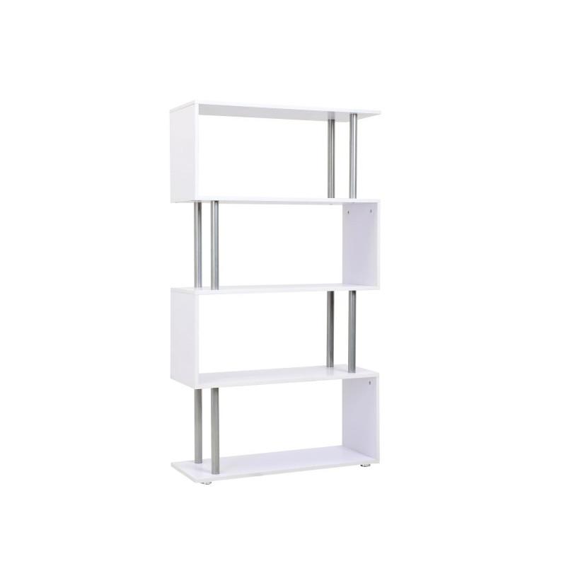 bibliotheque design randa blanche