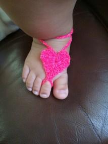 Pies Descalzos Para Bebe