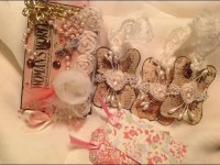 Shabby Chic Scrapbook Tag Ideas