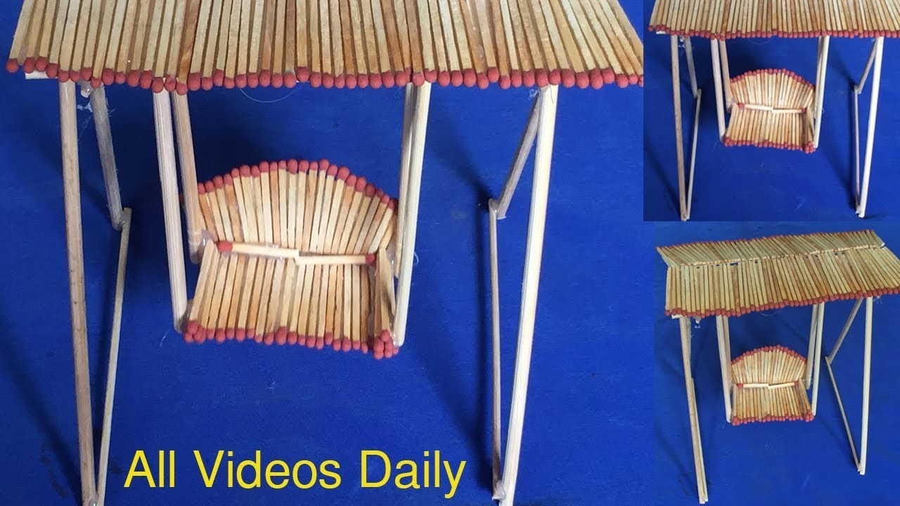 Amazing Matchstick Art And Craft Ideas How To Make Matchstick