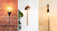 Super Easy DIY Wall Sconces!