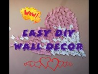Easy diy Wall decor with paper, Butterfly Wall art, Simple ...