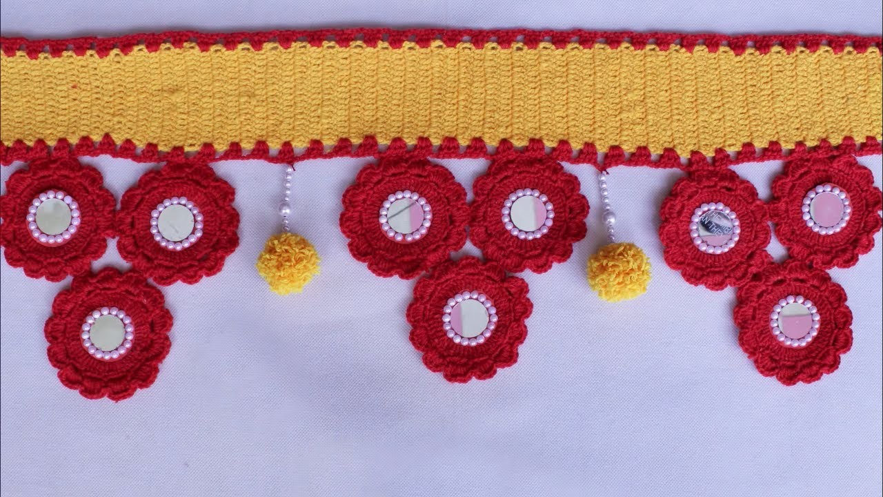 Door Toran Designs With Wool