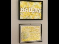 Personalized Flower Wall Decor|Kids Bedroom Decor|DIY