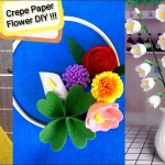 Wedding Diy Hula Hoop Flower Wreath 4 Creative Flower Finger Ring Ideas Homemade 5 Minutes