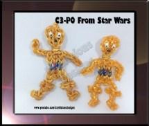 Star Wars Rainbow Loom Charms