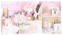 Spring in Paris DIY Room Decor Girly & French Part 2