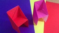 Origami Chair craft for kids, Paper chairs for Kids Room Decor