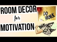 Motivational Wall Decor & DIY Room Decor for motivation ...