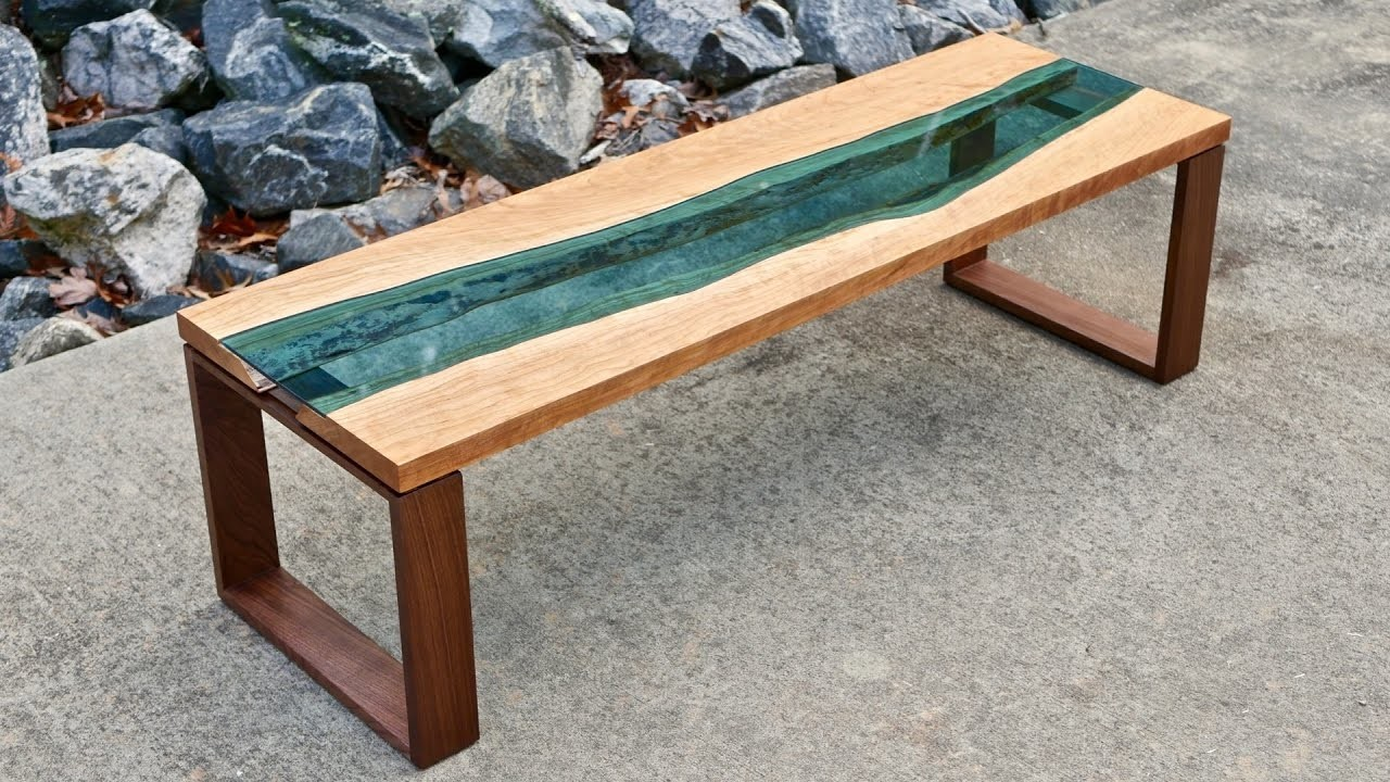 Live Edge River Coffee Table, How To Build