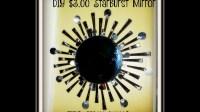 DIY $3 starburst mirror Wall Decor How to make a Starburst ...
