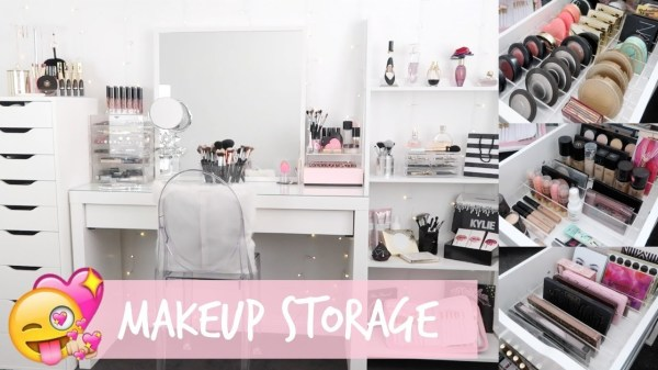 MAKEUP STORAGE ORGANIZATION for IKEA Alex Drawers