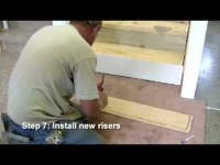 RetroTread Installation - Closed Stairway - Young ...