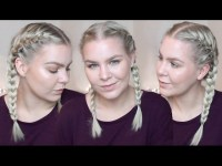 HOW TO FRENCH BRAID YOUR OWN HAIR FOR BEGINNERS  TALK ...