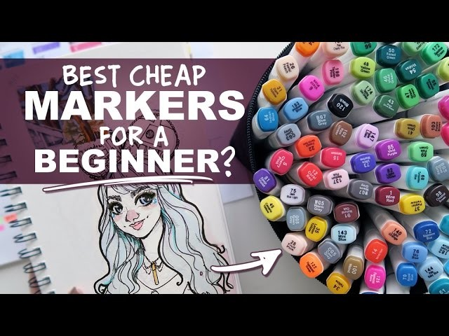 Ohuhu Markers Review, 80 Marker Set, Best Cheap Markers