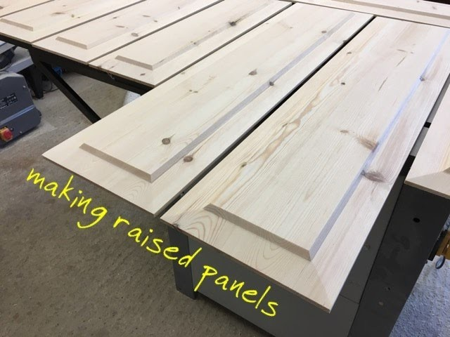Making Raised Panels On The Table Saw