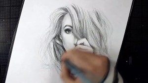pencil easy drawings beginners drawing step draw portrait paintingvalley
